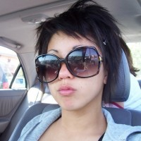 Cool Short EMO Haircut for Women
