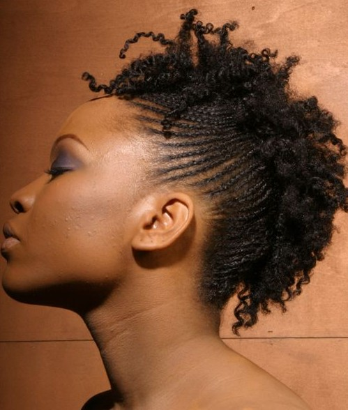 Terrific Short Cornrows Styles Weekly Hairstyle Inspiration Daily Dogsangcom