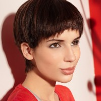 Cute Short Bowl Haircut for Women