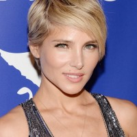 Elsa Pataky Long Layered Pixie Cut for Women