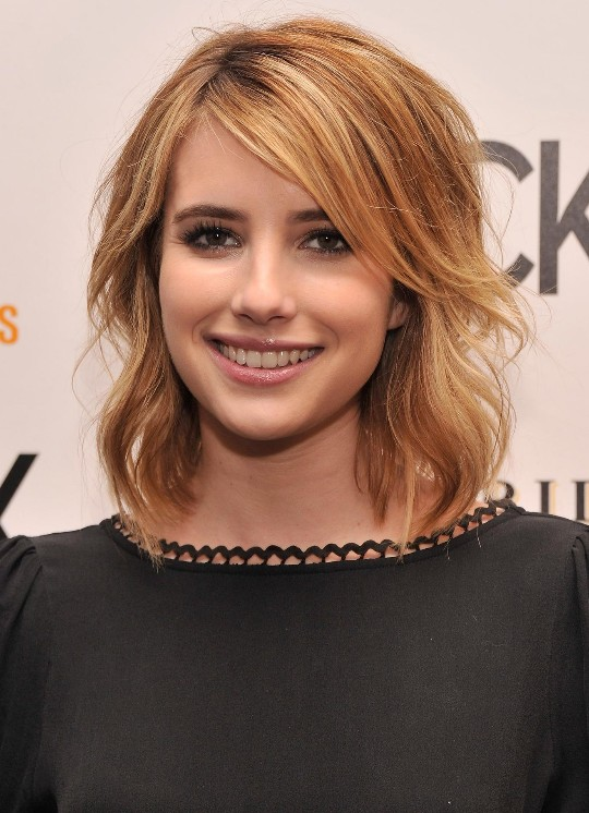 emma roberts haircut-#10