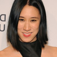 Eva Chen Black Graduated Bob Haircut for Summer