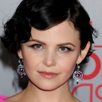 Ginnifer Goodwin Short Black Finger Wave Hairstyle