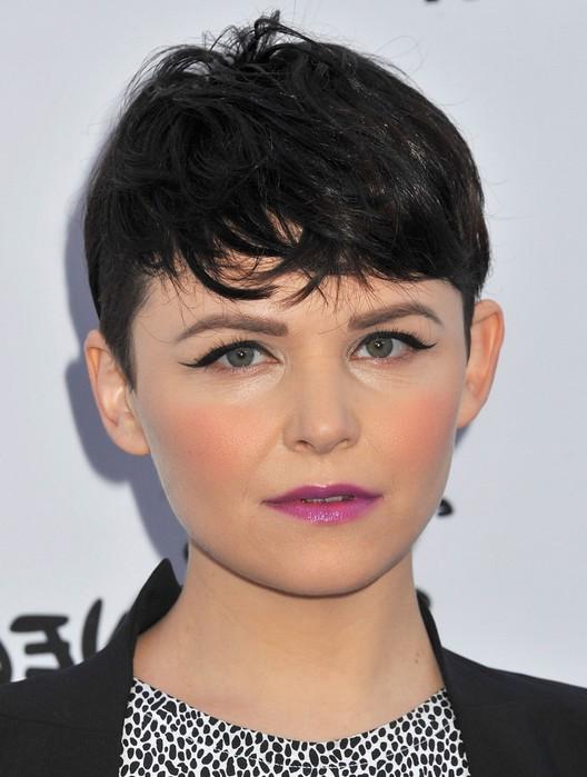 Ginnifer Goodwin Short Boyish Black Pixie Cut for Women
