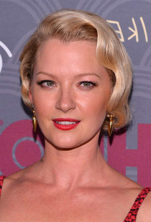 Gretchen Mol Finger Wave Hairstyle For Short Hair