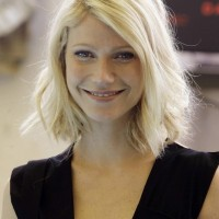Gwyneth Paltrow Short Hairstyle without Makeup