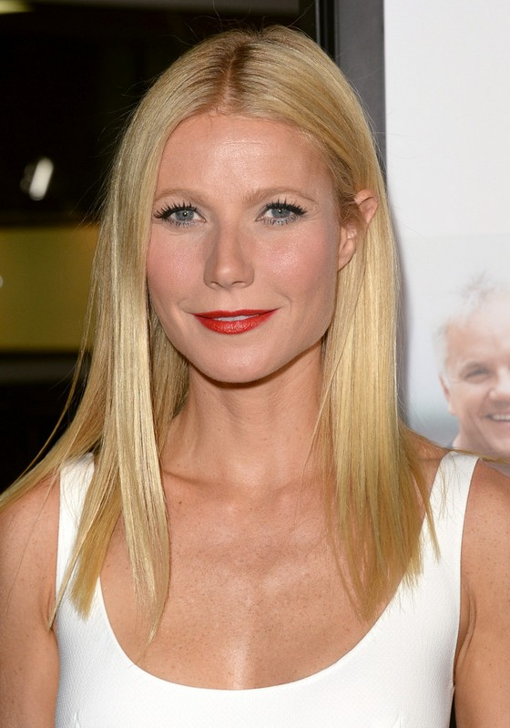 Gwyneth Paltrow Straight Hairstyles