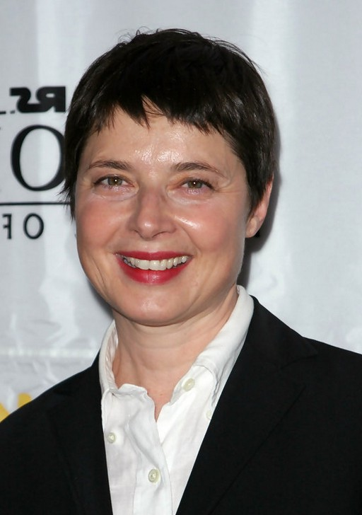 Isabella Rossellini Short Boycut for Women