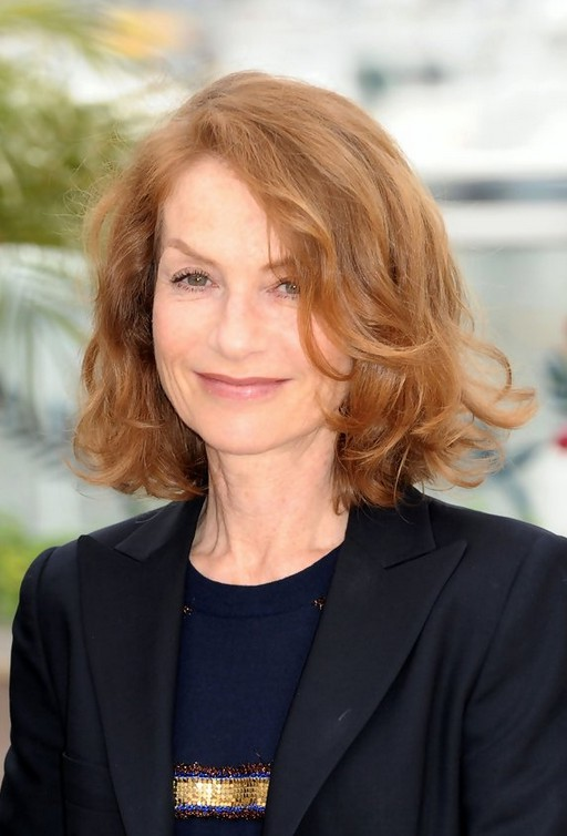 Isabelle Huppert Short Curly Bob Hairstyle For Women Over 50