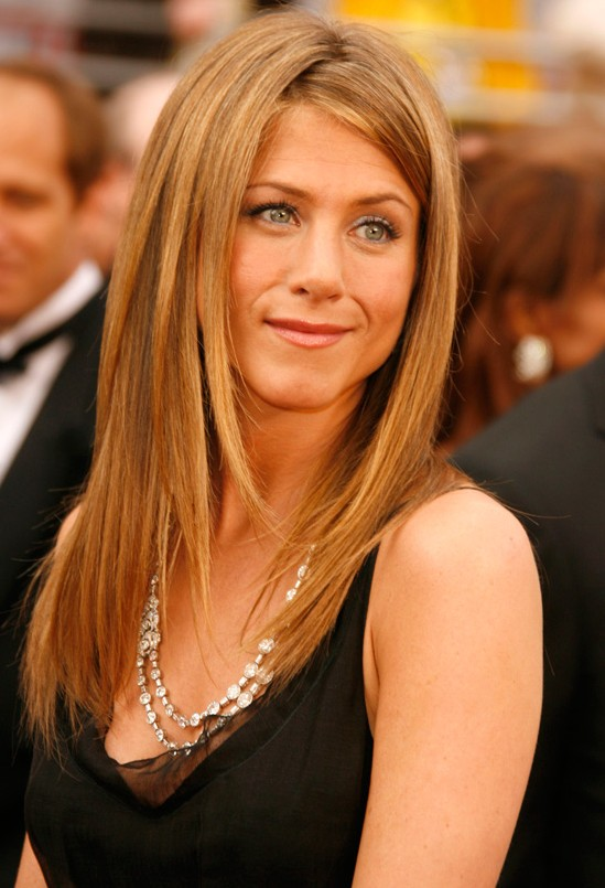 Jennifer Aniston Blonde Hair