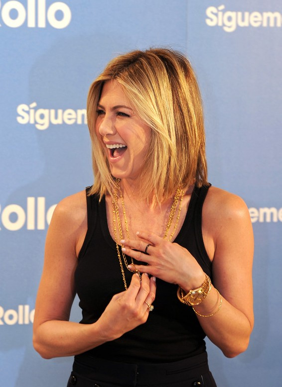 Jennifer Aniston Short Bob Haircut