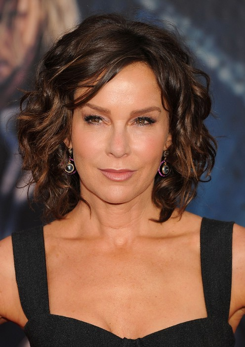 Excellent Jennifer Grey Short Brown Curly Bob Hairstyle For Women Over 50 Short Hairstyles For Black Women Fulllsitofus
