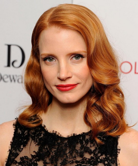 Jessica Chastain Hairstyle