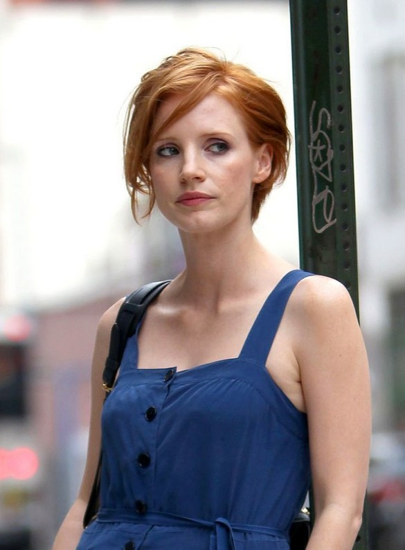 Jessica Chastain Short Hairstyle