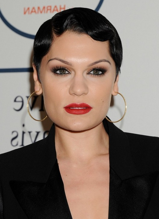 Jessie J 1920 S Very Short Finger Wave Haircut