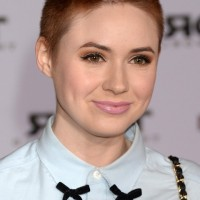 Karen Gillan Very Short Buzz Cut for Women
