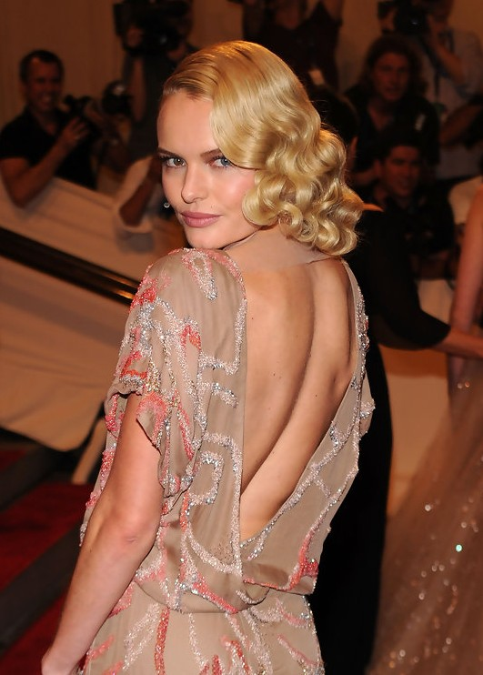 Kate Bosworth Wavy Hairstyles