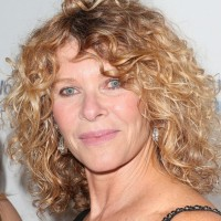 Kate Capshaw Curly Medium Haircut for Women Over 50