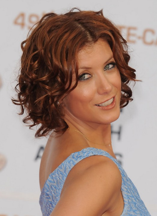 Fabulous Kate Walsh Hairstyles Short Brown Curly Hairstyle For Women Over Hairstyles For Men Maxibearus
