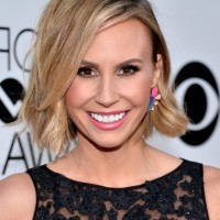 Keltie Knight Haircut: Short Messy Haircut with Bangs