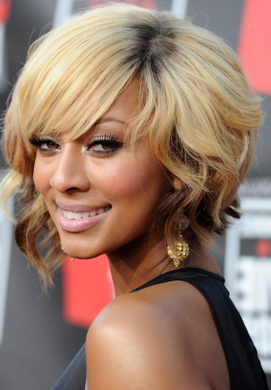 Pleasant Keri Hilson Short Inverted Bob Hairstyle With Curls Styles Weekly Short Hairstyles Gunalazisus