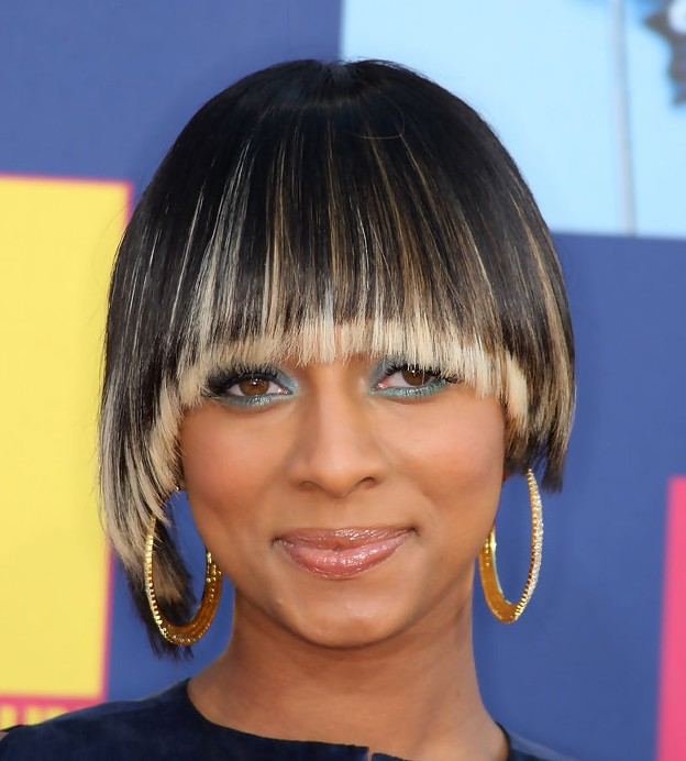 Bowl cut styles weekly keri hilson short haircut trendy straight bowl cut with long bangs winobraniefo Choice Image