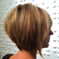 Layered Inverted Bob Haircut for Women