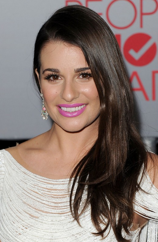 Lea Michele Long Hairstyle