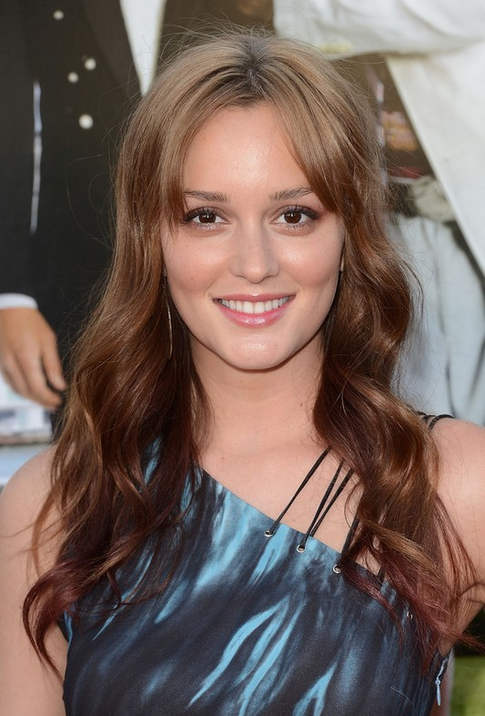 Leighton Meester Long Hairstyles