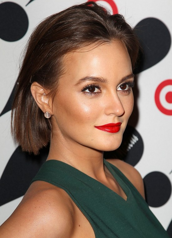 Leighton Meester Short Haircut