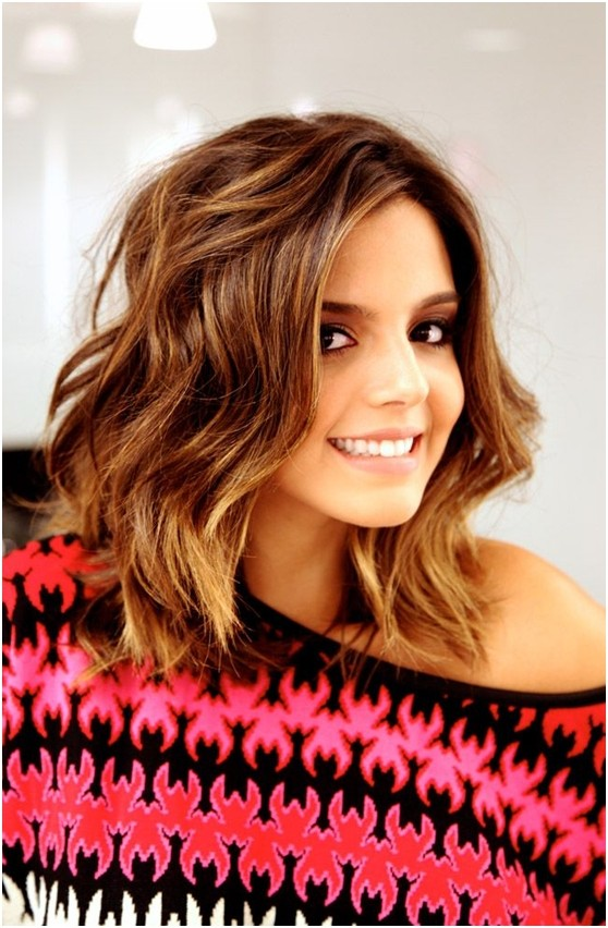 Long Bob Hairstyles For Wavy Hair Styles Weekly