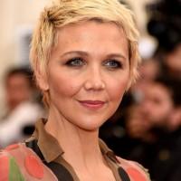 Maggie Gyllenhaal Boyish Edgy Short Blonde Pixie Cut for Women