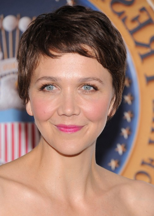 Maggie Gyllenhaal Short Pixie Cut for Women Over 30