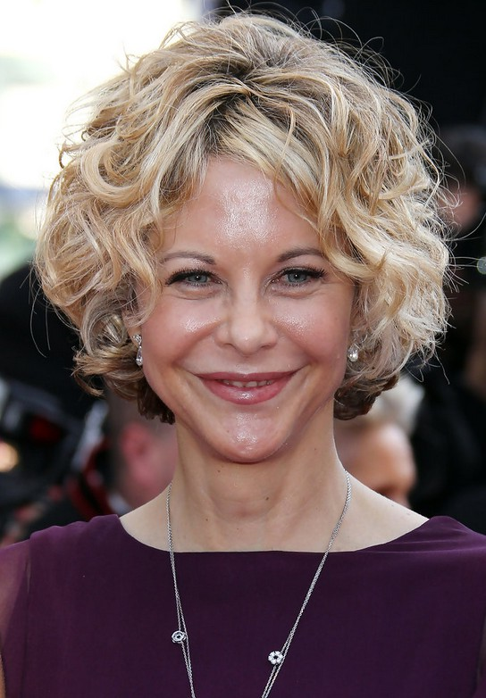 Meg Ryan Short Curly Hairstyle For Women Over 50 Styles Weekly