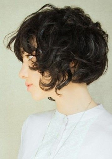 Messy Curly Hairstyle Asian Short Haircuts Styles Weekly