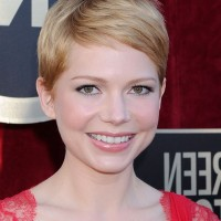 Michelle Williams Best Short Pixie Cut for Summer