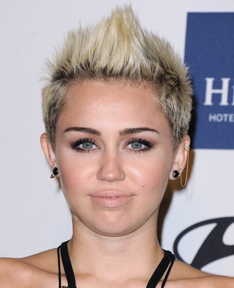 Miley Cyrus Spiky Haircut For Girls Styles Weekly