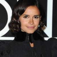 Miroslava Duma Elegant Short Wavy Curly Hairstyle