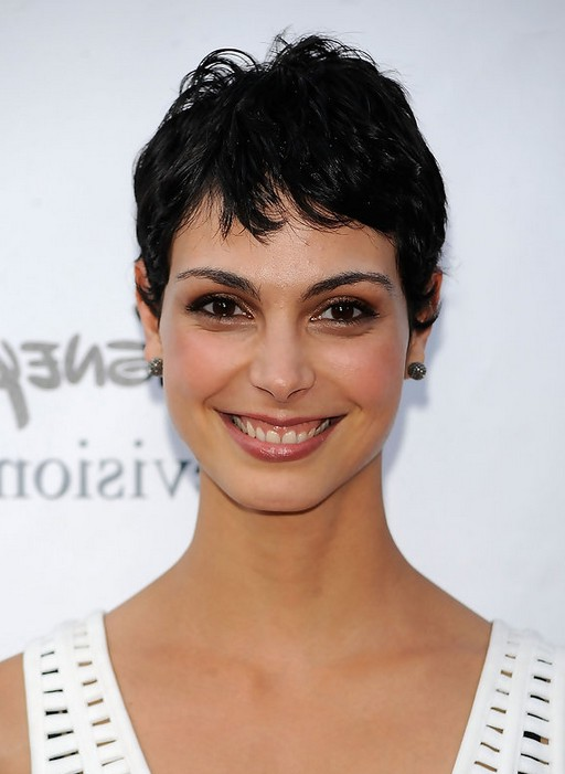 Short Black Boy Cut Hair: Morena Baccarin's Short Haircut