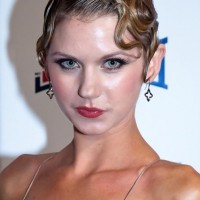 Natasha Leigh Short Finger Wave Hairstyle