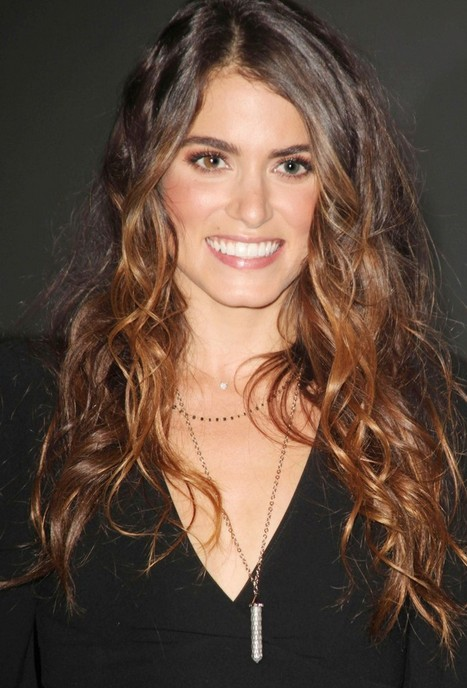 Nikki Reed Curly Hairstyles