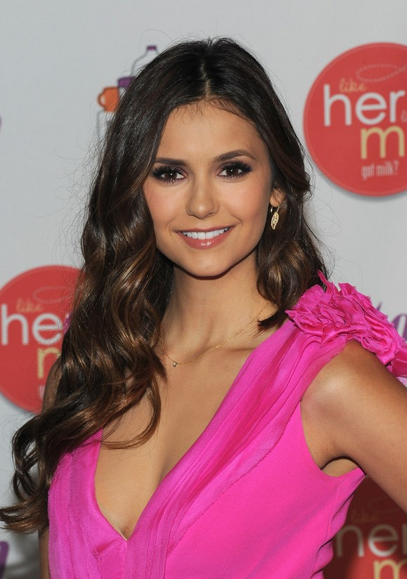Nina Dobrev Long Hairstyles