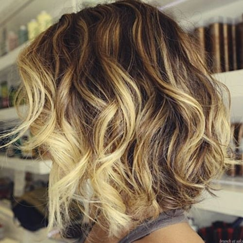 Ombre Short Wavy Hair Bob Haircuts For Summer Styles Weekly