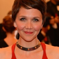 Popular Short Pixie Haircut from Maggie Gyllenhaal
