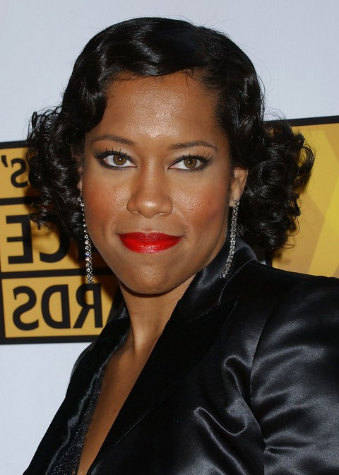 Regina King Finger Wave Hairstyle for Black Women | Styles Weekly