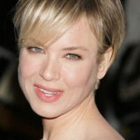 Boycut Styles: Renee Zellweger Short Boy Cut with Bangs for Women