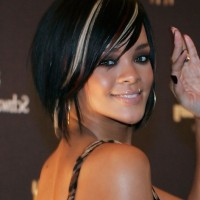 Rihanna Short Scene Hairstyle for Women