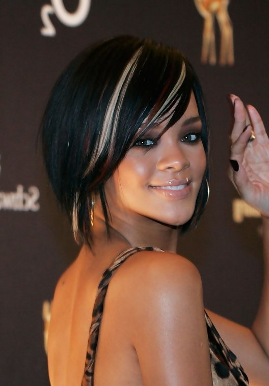 rihanna short scene hairstyle for women styles weekly