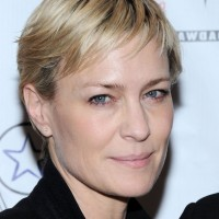 Robin Wright Short Straight Pixie Cut for Women Over 40