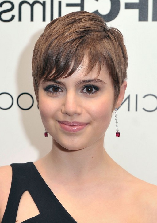 Sami Gayle Textured Short Pixie Cut with Bangs